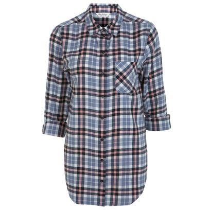 Clothing, Blue, Product, Collar, Sleeve, Pattern, Textile, White, Plaid, Dress shirt,