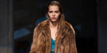 Clothing, Human body, Fashion show, Winter, Textile, Outerwear, Style, Fur clothing, Runway, Fashion model,
