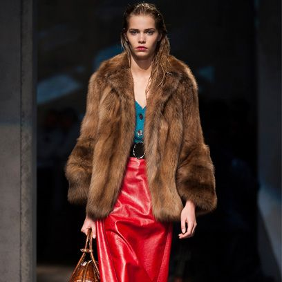 Clothing, Human body, Fashion show, Winter, Textile, Outerwear, Style, Fur clothing, Runway, Fashion model,