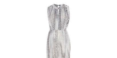 Textile, Style, Pattern, Grey, Woolen, Pattern, Creative arts, One-piece garment, Fashion design, Day dress,