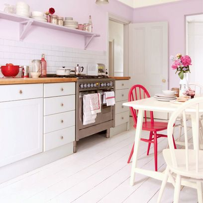 Room, Floor, Interior design, Furniture, Red, Table, Flooring, White, Pink, Drawer,