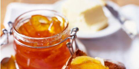 Serveware, Food, Ingredient, Finger food, Tableware, Dishware, Amber, Breakfast, Dish, Meal,
