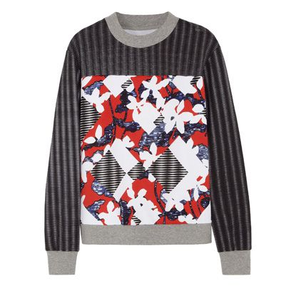 Product, Sleeve, Pattern, Textile, Sweater, Carmine, Orange, Design, Creative arts, Long-sleeved t-shirt,