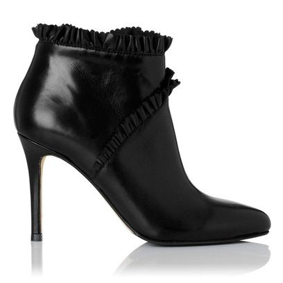 Footwear, Shoe, Boot, White, Fashion, Leather, Black, High heels, Fashion design, Synthetic rubber,