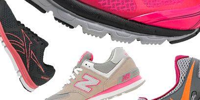 Footwear, Product, Yellow, Red, White, Pink, Orange, Line, Athletic shoe, Light,