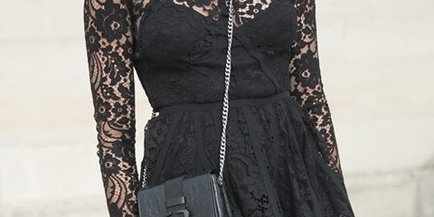 Clothing, Dress, Sleeve, Textile, Joint, Style, One-piece garment, Formal wear, Pattern, Day dress,