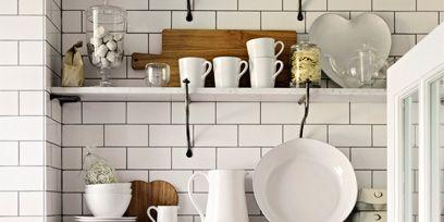 Room, Wall, White, Porcelain, Interior design, Ceramic, Serveware, Household supply, Dishware, Tile,