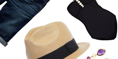 Hat, Fashion accessory, Style, Jewellery, Headgear, Costume accessory, Fashion, Chain, Tan, Beige,