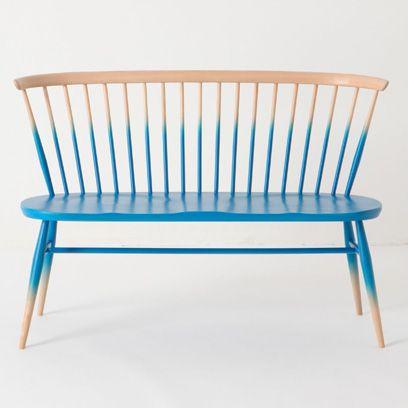 Blue, Wood, Furniture, Line, Electric blue, Hardwood, Teal, Aqua, Outdoor furniture,