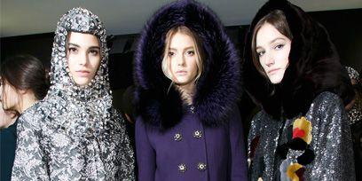 Human, Fur clothing, Textile, Style, Natural material, Animal product, Black hair, Fashion, Fur, Fashion model,