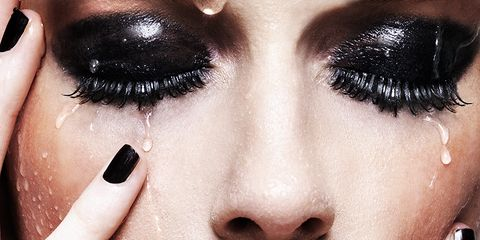 Finger, Lip, Brown, Skin, Eyelash, Eyebrow, Nail, Style, Beauty, Iris,