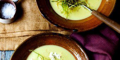 Food, Serveware, Dishware, Cuisine, Soup, Dish, Ingredient, Garnish, Recipe, Porcelain,