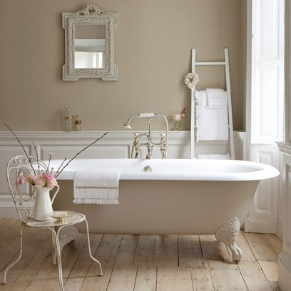 Free Standing Bath Country Style Bathrooms Decorating Ideas Interiors