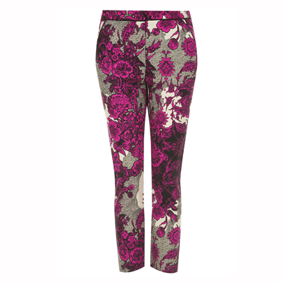 Purple, Magenta, Pattern, Waist, Violet, Visual arts, Fashion design, Active pants, Pattern, Camouflage,