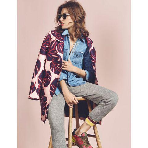Clothing, Leg, Sleeve, Trousers, Textile, Denim, Outerwear, Collar, Style, Street fashion,