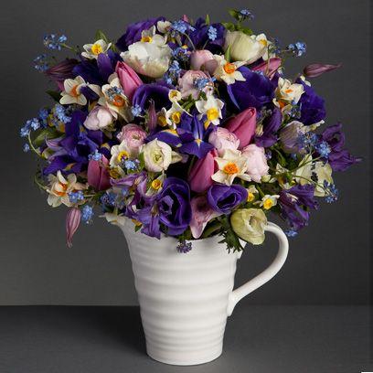 Blue, Yellow, Bouquet, Flower, Purple, Lavender, Petal, Violet, Cut flowers, Floristry,