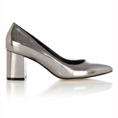 White, Black, Grey, Beige, Composite material, Material property, Silver, Basic pump, Dress shoe, Steel,