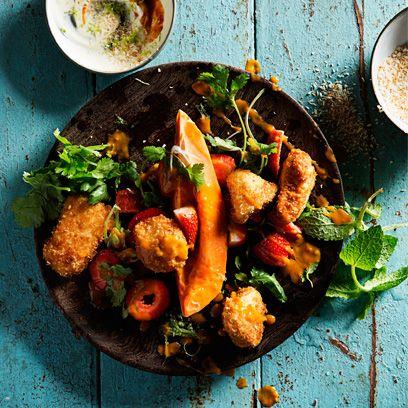 Food, Ingredient, Tableware, Dishware, Serveware, Recipe, Dish, Cuisine, Produce, Leaf vegetable,