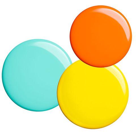 Yellow, Colorfulness, Amber, Orange, Turquoise, Teal, Circle, Aqua, Peach, Sphere,