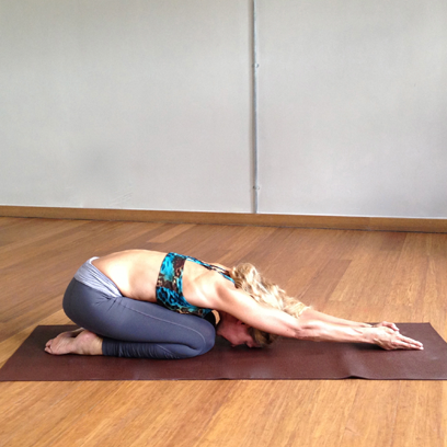 6 easy yoga poses for new mums  fitness