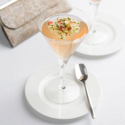 Serveware, Stemware, Food, Dishware, Drinkware, Tableware, Cuisine, Glass, Drink, Martini glass,