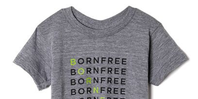Clothing, Product, Sleeve, Text, White, T-shirt, Font, Neck, Lavender, Grey,