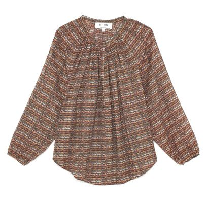 Product, Brown, Sleeve, Textile, Pattern, Collar, Fashion, Sweater, Woolen, Beige,