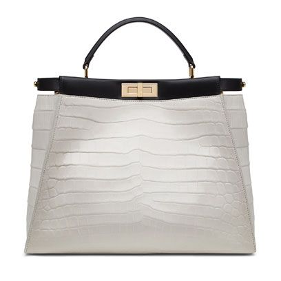 White, Grey, Bag, Beige, Material property, Shoulder bag, Brand, Leather, Silver, Label,
