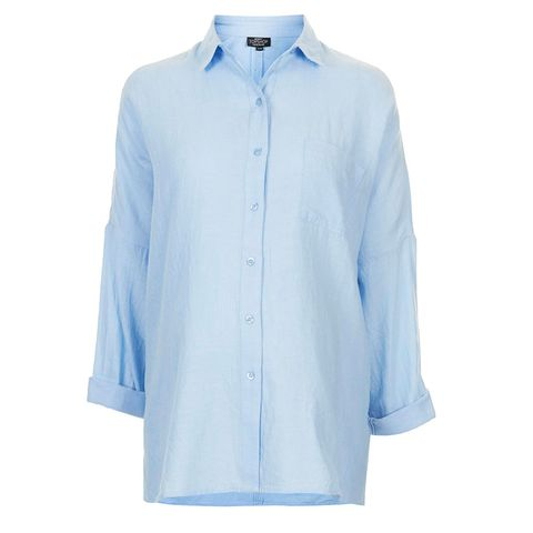 Clothing, Blue, Product, Collar, Sleeve, Textile, White, Coat, Dress shirt, Electric blue,