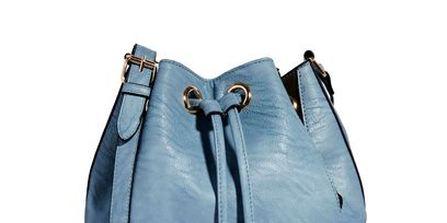 Blue, Product, Textile, Musical instrument accessory, Azure, Electric blue, Grey, Aqua, Leather, Silver,