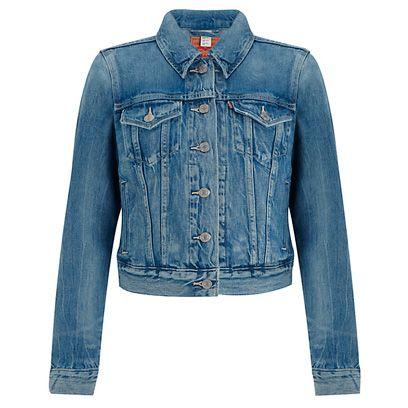 Clothing, Blue, Product, Jacket, Sleeve, Collar, Denim, Textile, Outerwear, White,
