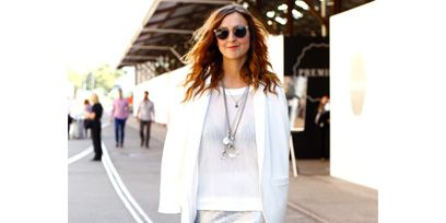 Clothing, Sleeve, Shoulder, Textile, Photograph, Outerwear, White, Style, Street fashion, Bag,