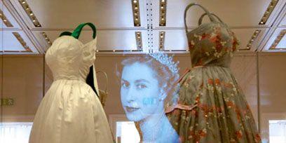 Dress, Formal wear, Gown, One-piece garment, Fashion, Costume design, Wedding dress, Costume, Creative arts, Bridal accessory,