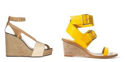 Footwear, Product, Brown, White, Tan, Fashion, Sandal, Beige, Wedge, High heels,