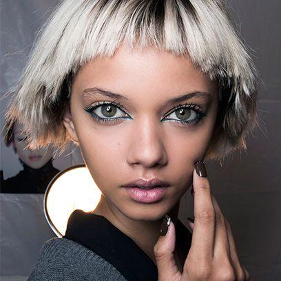 Face, Nose, Finger, Lip, Mouth, Eye, Hairstyle, Skin, Chin, Eyelash,