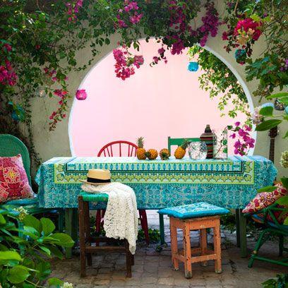 Furniture, Room, Table, Patio, Interior design, House, Architecture, Plant, Wallpaper, Garden,