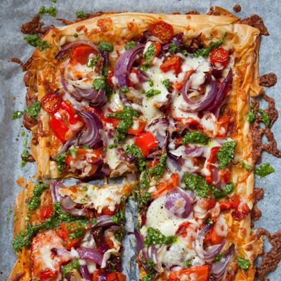 Food, Cuisine, Ingredient, Dish, Pizza, Recipe, Vegetable, Fast food, Pizza cheese, Baked goods,