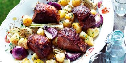 summer Sunday roast