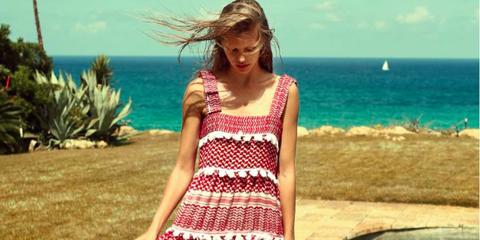 Clothing, Blue, Textile, Fluid, Leisure, Summer, Aqua, Dress, Teal, Turquoise,