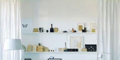 Blue, Interior design, Room, Green, Home, Living room, Furniture, White, Wall, Interior design,