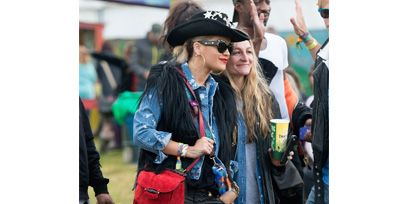 Clothing, Hat, Outerwear, Fashion accessory, Sun hat, Denim, Jacket, Street fashion, Riding boot, Boot,
