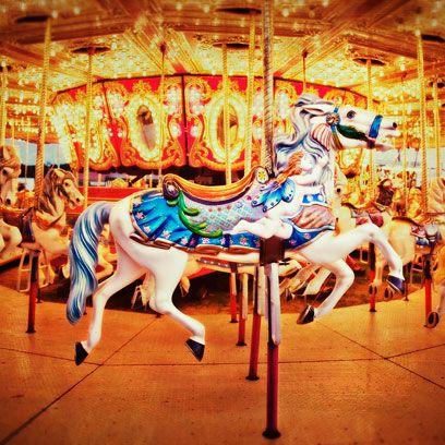 Carousel, Amusement ride, Amusement park, Fun, Nonbuilding structure, Recreation, Park,