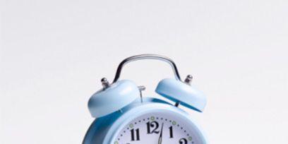 Blue, Product, Line, Aqua, Font, Electric blue, Azure, Clock, Home accessories, Grey,