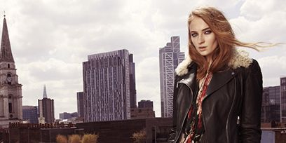 Clothing, Textile, Tower, Outerwear, Style, Street fashion, Urban area, Jacket, Denim, Beauty,