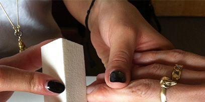 Finger, Skin, Hand, Jewellery, Nail, Wrist, Thumb, Fashion accessory, Fashion, Metal,