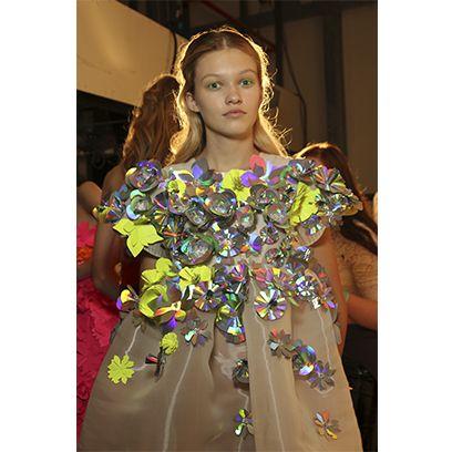 Clothing, Style, Fashion, Day dress, Fashion model, Fashion design, Embellishment, One-piece garment, Hair accessory, Makeover,