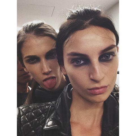 Head, Nose, Mouth, Lip, Eye, Hairstyle, Chin, Eyelash, Eyebrow, Beauty,