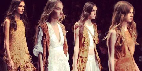 Textile, Formal wear, Dress, Gown, Fashion model, Fashion, Youth, Beauty, One-piece garment, Long hair,