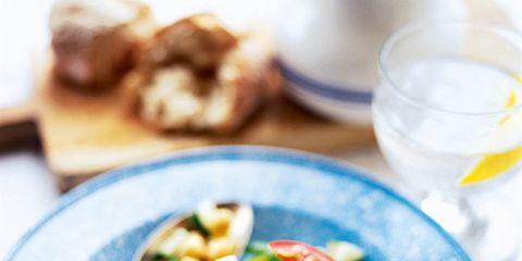 Food, Vegetable, Dishware, Serveware, Produce, Ingredient, Tableware, Cuisine, Meal, Tomato,