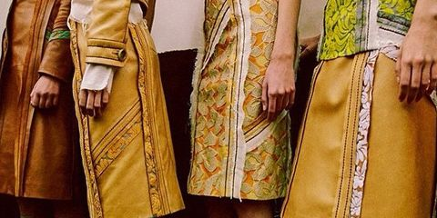 Clothing, Footwear, Brown, Yellow, Outerwear, Style, Khaki, Street fashion, Fashion, Pattern,